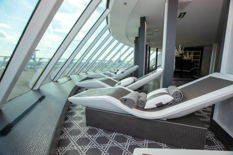 ATELIERS NORMAND, contracted to create the wellness areas onboard the Celebrity Edge cruise ship